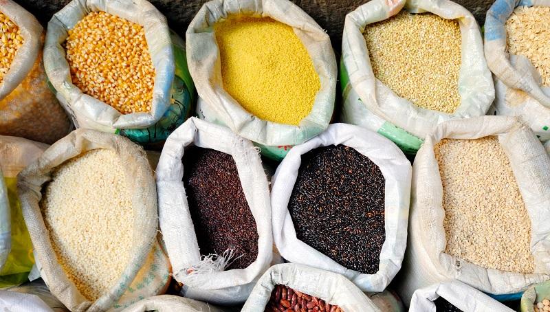 variedad de cereales