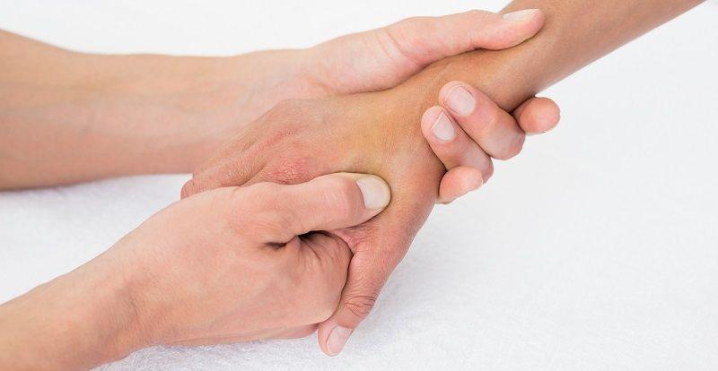 masaje articulacion