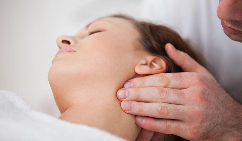 masaje cuello