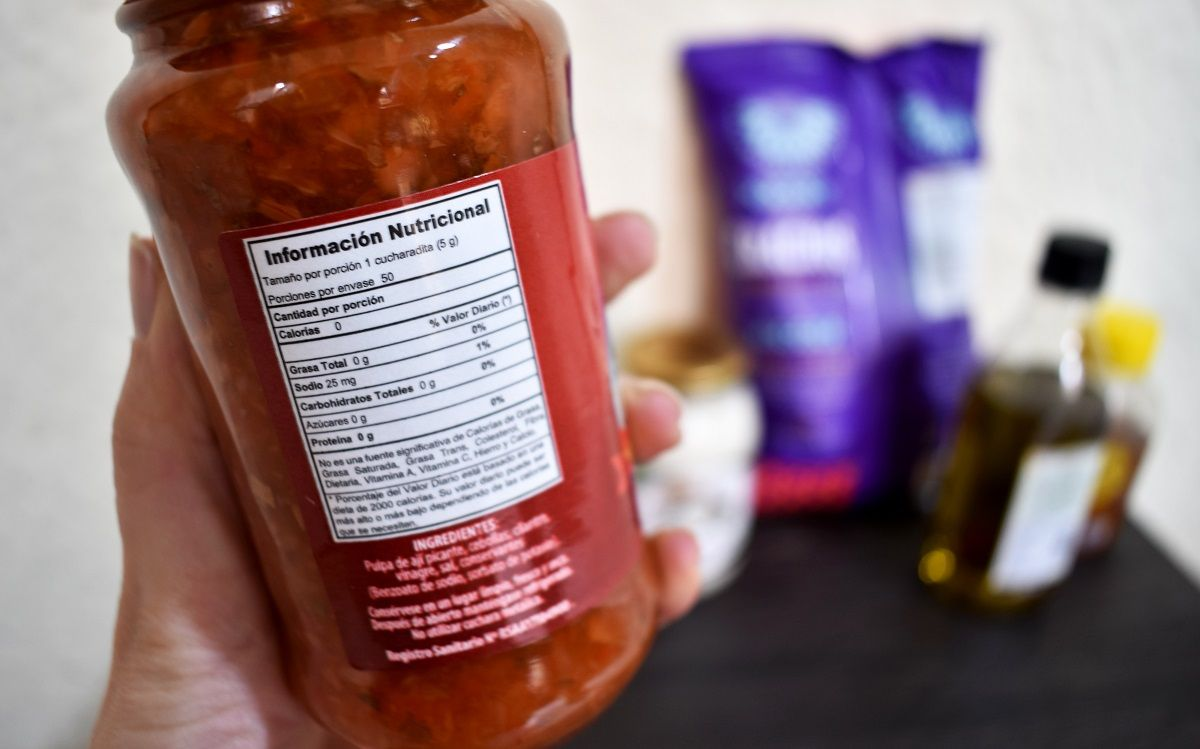 ¿Cómo leer la tabla nutricional de los alimentos?