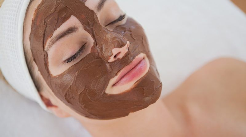 mascarilla chocolate