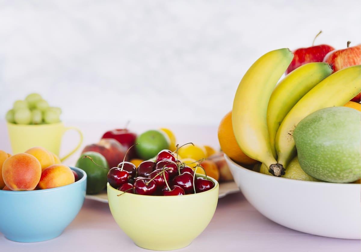 frutas con mas azucar
