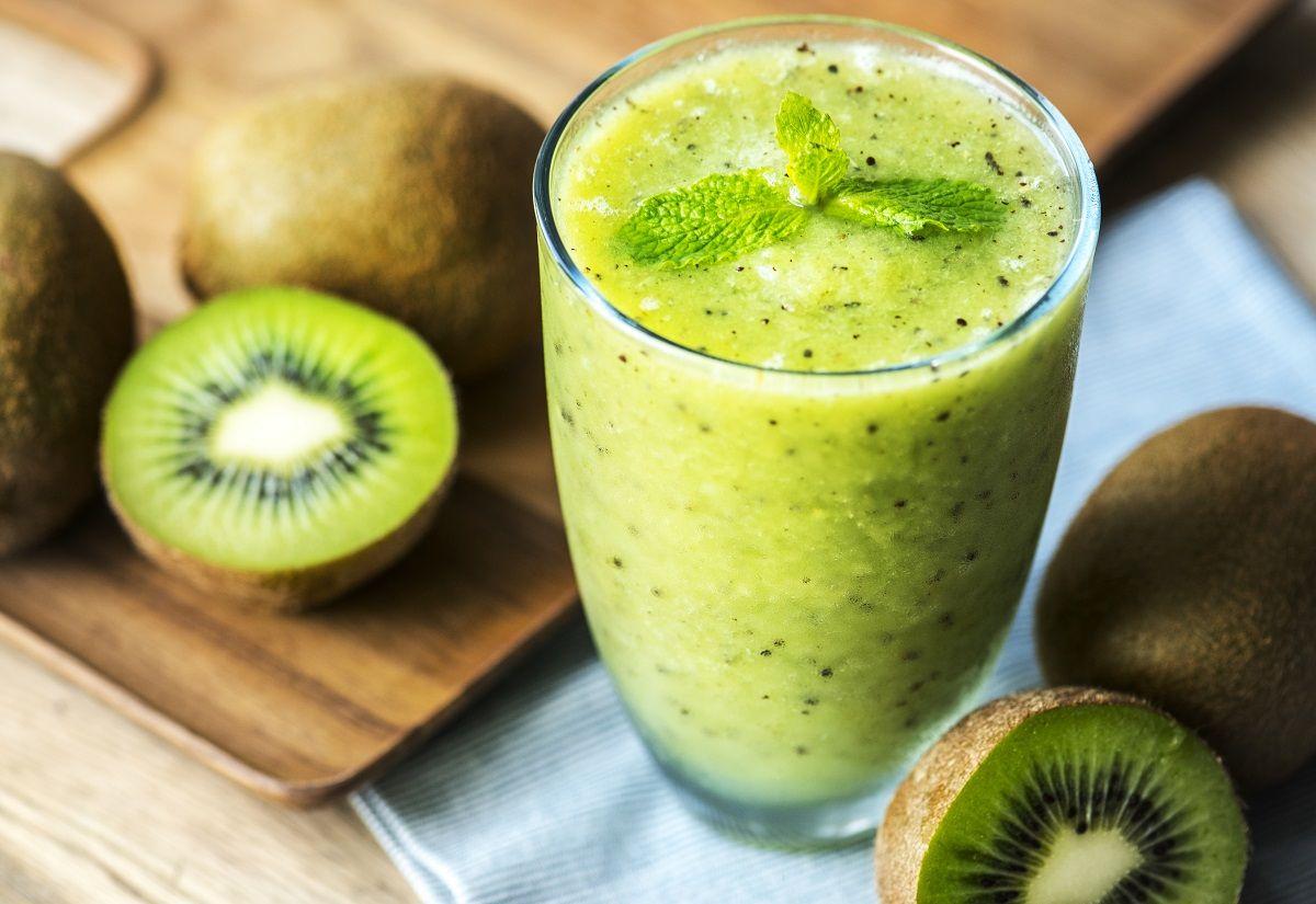 smoothie de kiwi