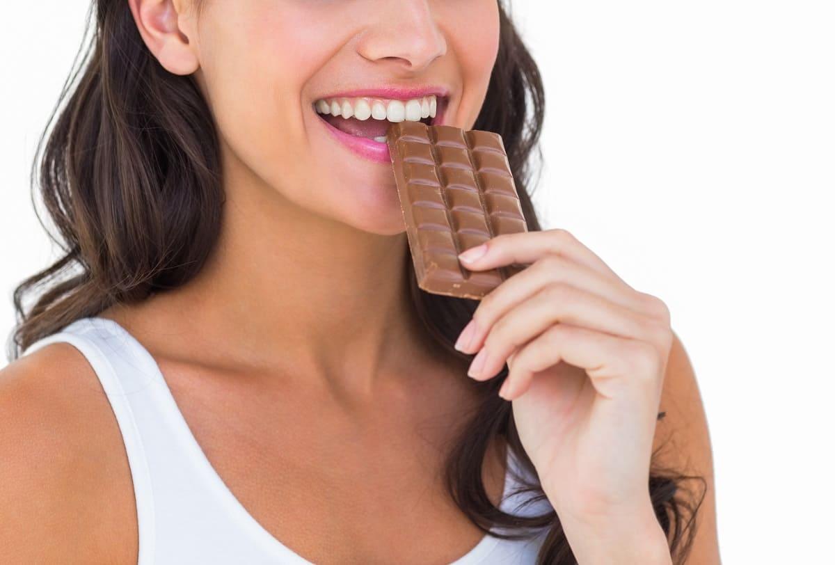 Beneficios de comer chocolate, pero con moderación