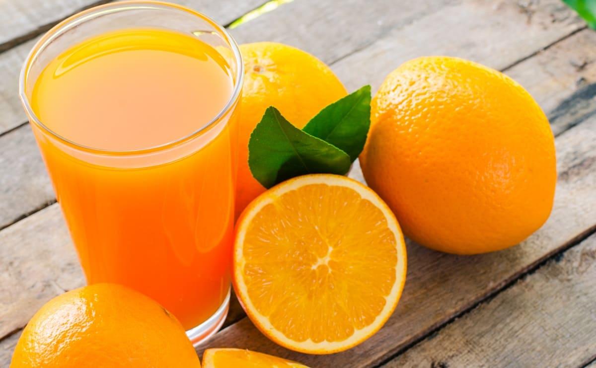 fruta o zumo
