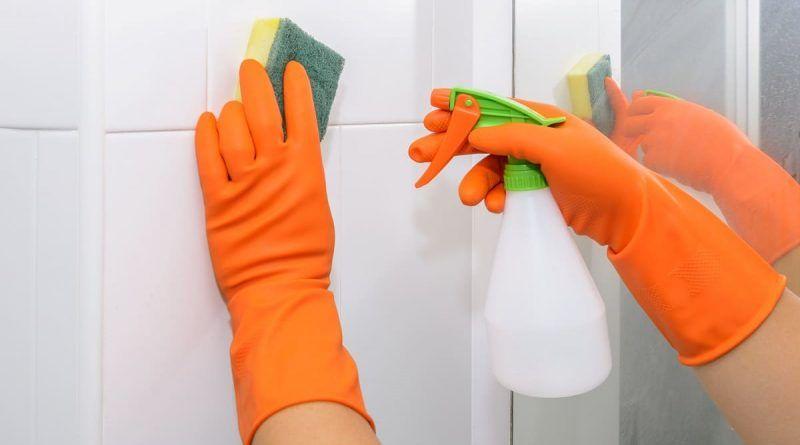 desinfectar baños
