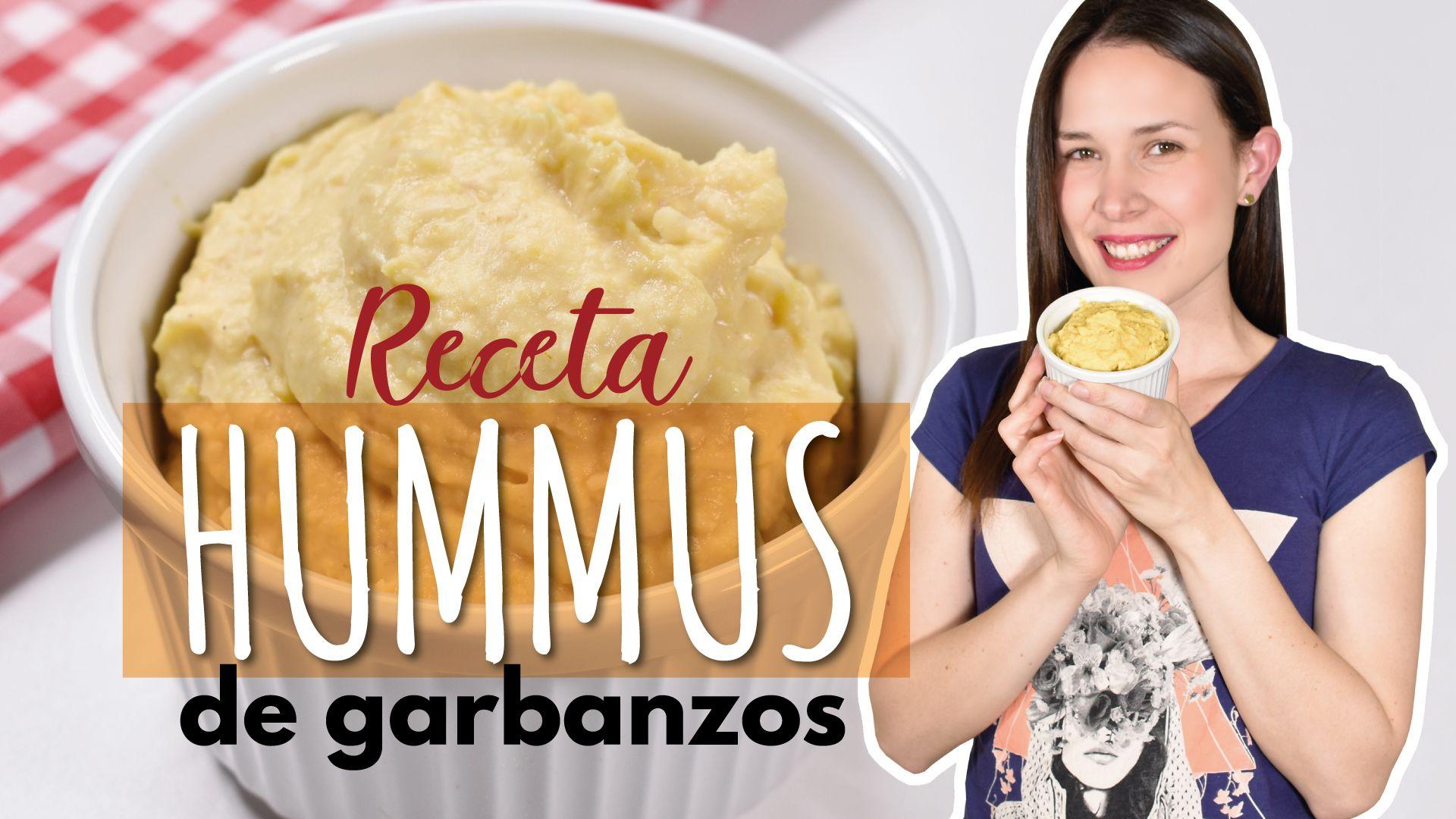 Hummus de garbanzos: una receta fácil y muy saludable