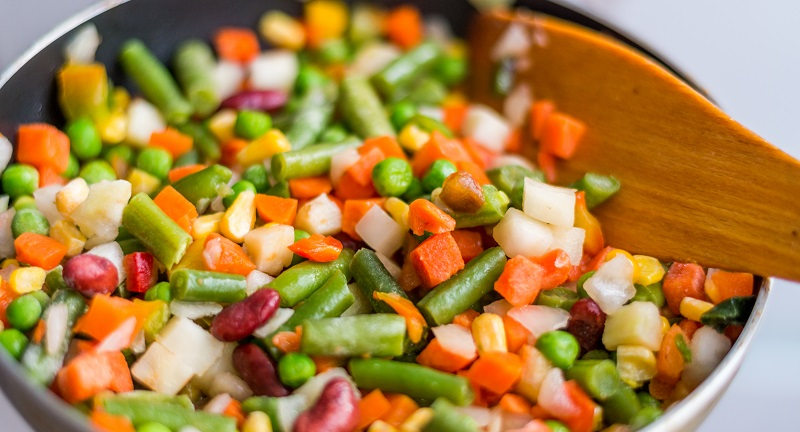 como preparar verduras congeladas