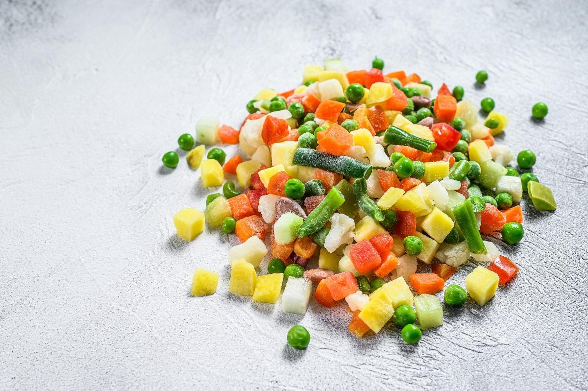 Las verduras congeladas, ¿son saludables?