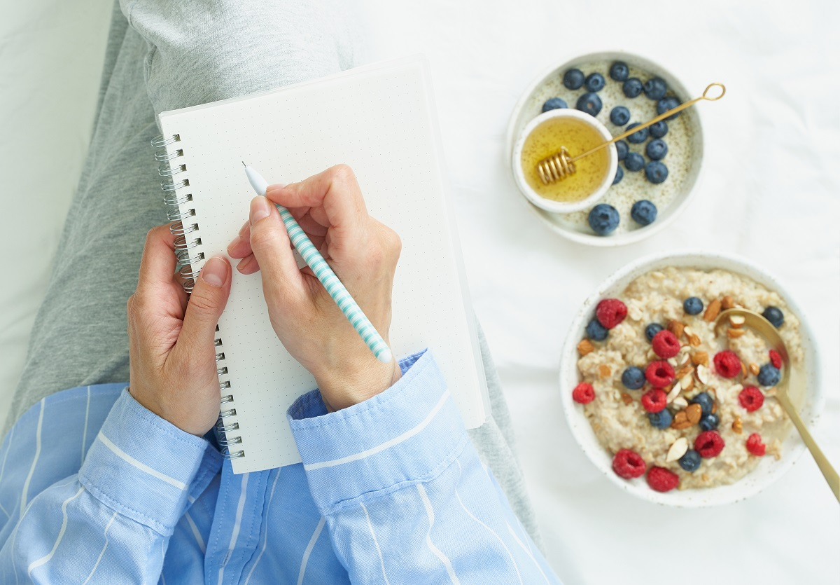 Diario para trabajar con el hambre emocional