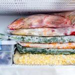 congelar vegetales y frutas