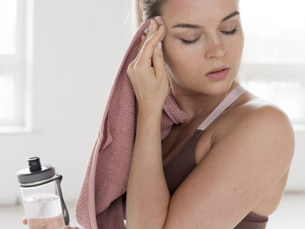 cuidado de la piel ejercicio