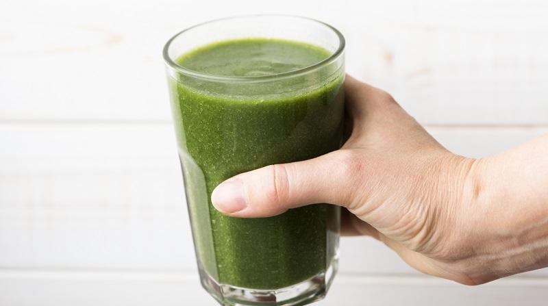 batido verde con vitamina C
