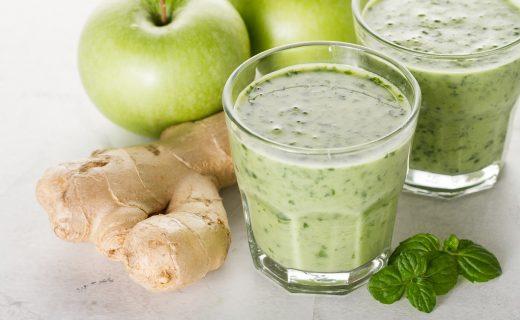 Delicioso batido para una mejor salud intestinal